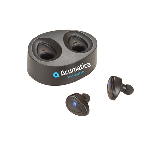 Acumatica Micro True Wireless Earbuds & Powercase