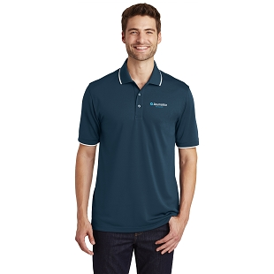 Acumatica Port Authority Dry Zone UV Micro-Mesh Tipped Polo