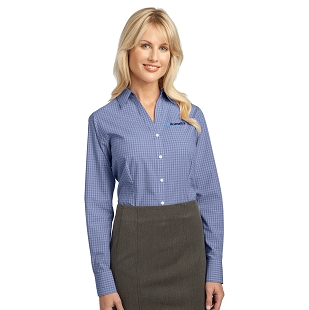 Acumatica Port Authority Ladies Plaid Pattern Easy Care Shirt