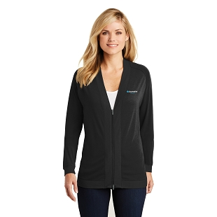 Acumatica Port Authority Ladies Concept Bomber Cardigan