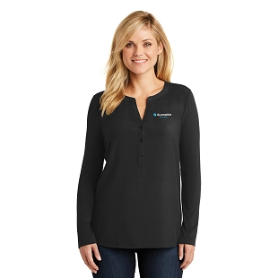 Acumatica Port Authority Ladies Concept Henley Tunic