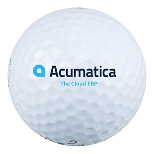 Acumatica Wilson Ultra 500 Golf Ball (3 Pack)