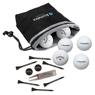 Acumatica Callaway 6-Ball Valuables Pouch with Tee Pack - Warbird