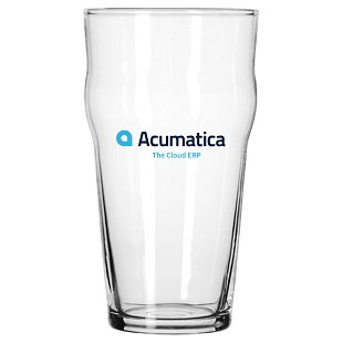 Acumatica 16oz English Pub Pint Glass