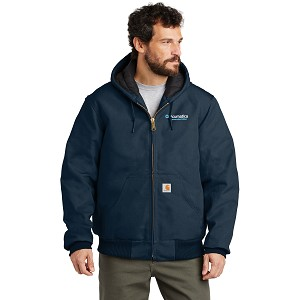 Acumatica Construction Carhartt® Quilted-Flannel-Lined Duck Active Jacket