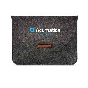 "Acumatica 15.9"" Felt Laptop Sleeve"